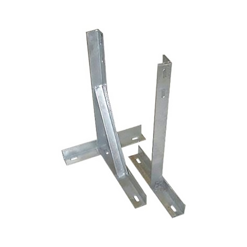 """TK-24 – 24"""" Galvanised T and K Wall Bracket (with Bolts)"""