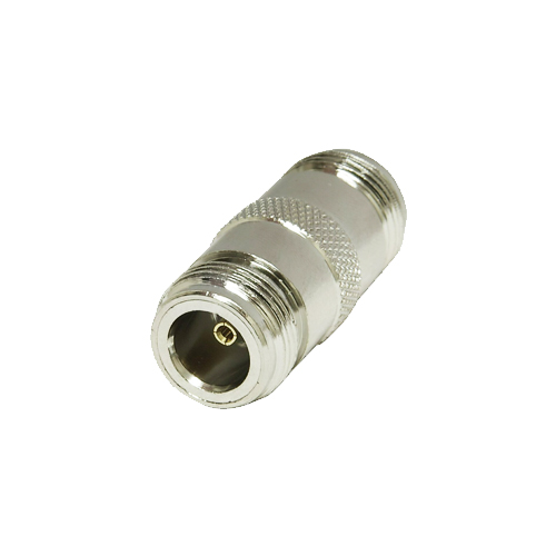 Double-NF Double Female Joiner for 2 x N-Type Male Plugs