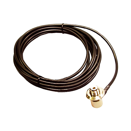 Sirio SO239 Lead – 4 m RG58 Cable with Angled SO239 Connector